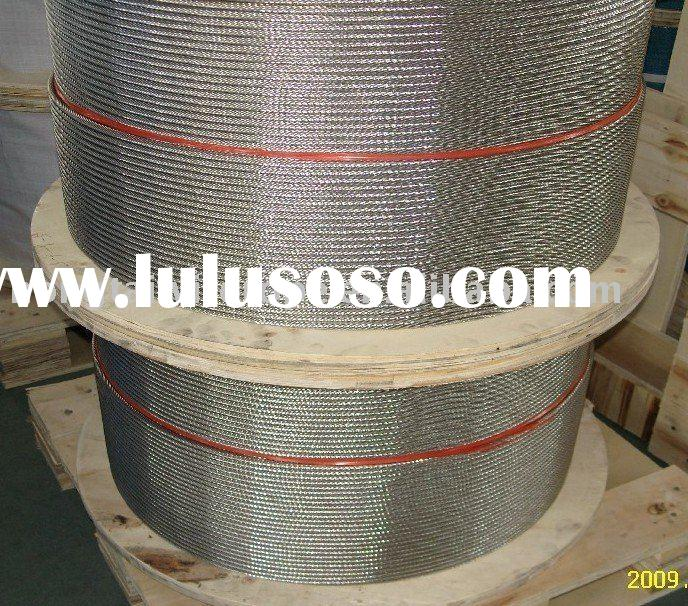 Spiral Wire Rope 316 Stainless Steel Wire Rope 1*7 /1*19/1*37