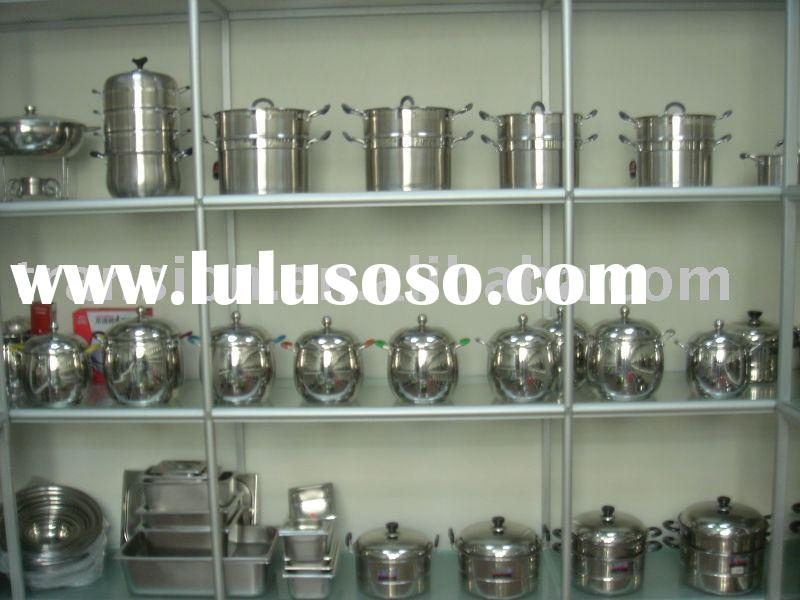 Stainless steel High stock pot/steamer pot/cookware set