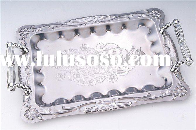 Stainless steel Square facial Tray fruit tray food tray