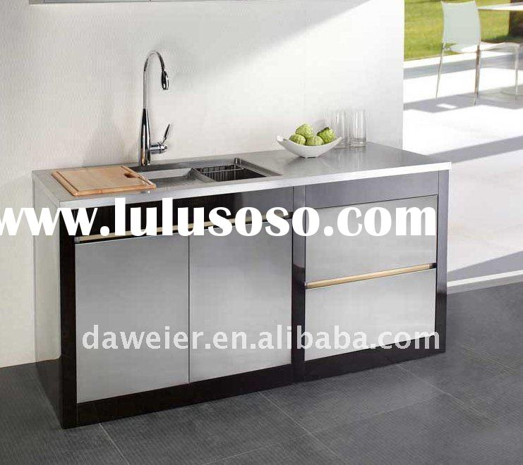 Stainless steel high gloss kitchen sink cabinet SC1600-3