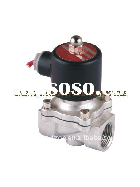 Stainless steel normal closed liquid solenoid valves