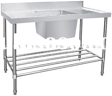 Stainless steel wash basin stand