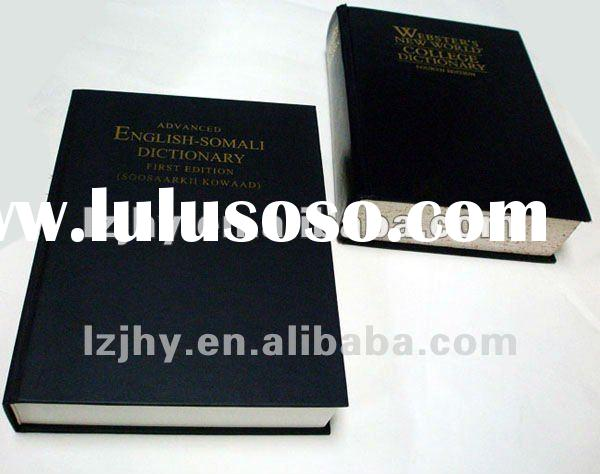 Synthetic leather cover bible printing