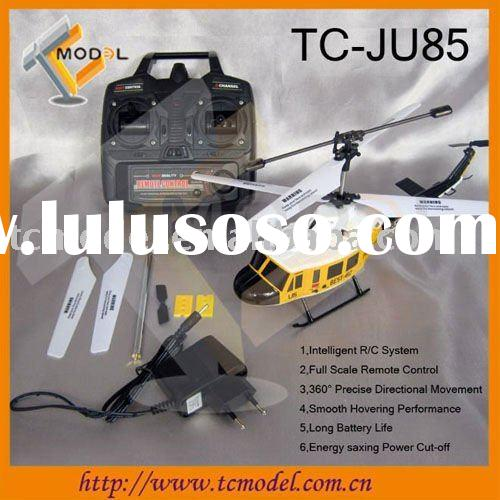 TC-JU85 3ch bell helicopter radio control with gyro and LED light