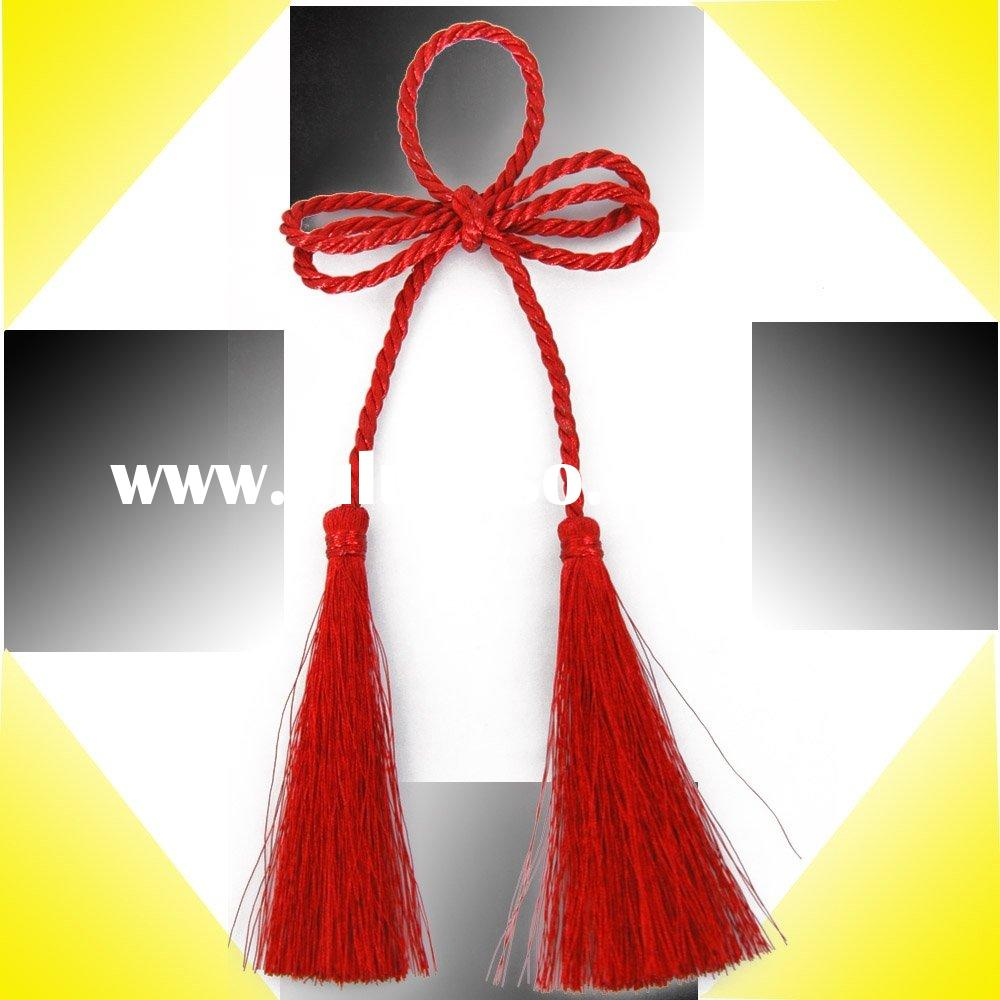Tassel, Tieback, Polyester Tassel, Beaded Tassel, Curtain Tassel, braid fringe,Curtain Accessories.