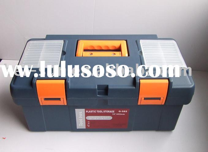 Tool box G-580-T, tool case, plastic tool box, tool chest, tool kit, tool cabinet
