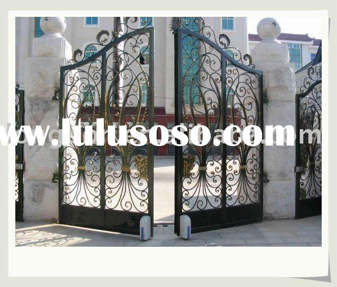 Gate Grill Iron Grill: Wrought Iron Gate Design, Wrought Iron Gate Design