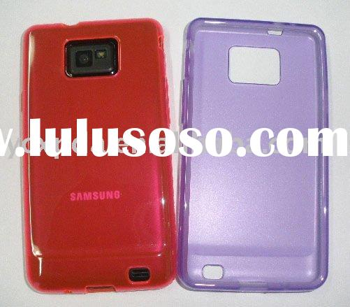 Tpu case for cell phone Samsung i9100 Galaxy S2,the thinnest phone,7'8 mm