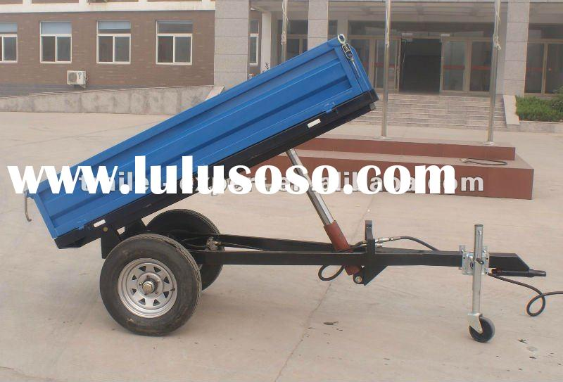 Travel/Match with tractor/Single axle/small 1t trailer