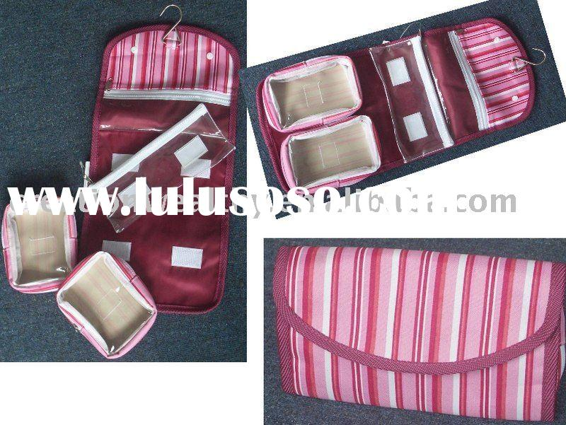 Travelling Toiletry bag with removable pocket inside