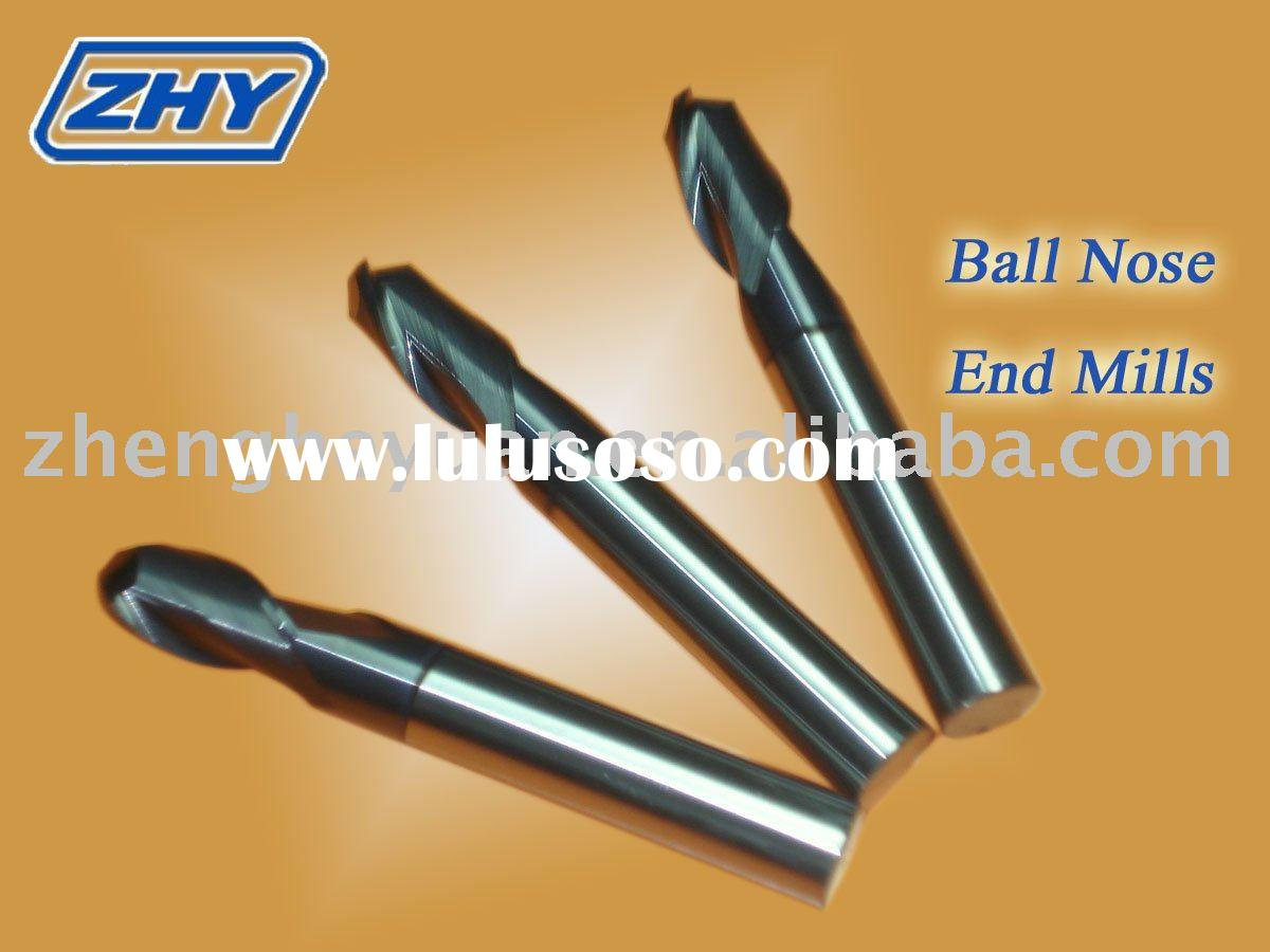 Tungsten Carbide Ball Nose End Mills