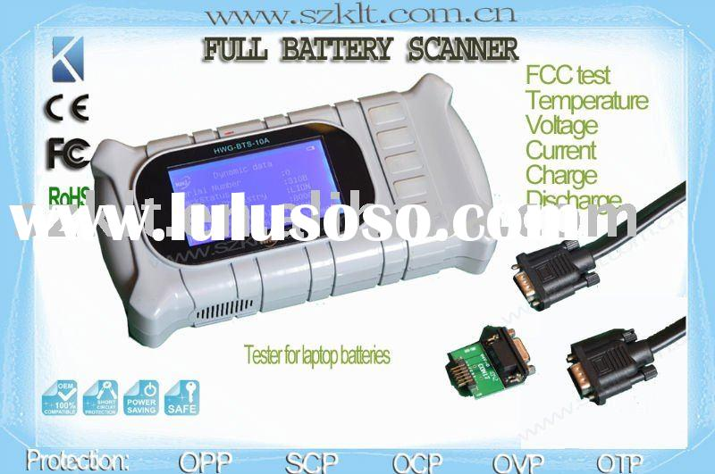 Universal automatic Laptop battery tester