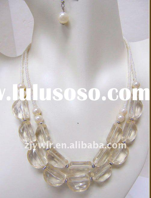WHOLESALE COSTUME AFRICAN JEWELRY NECKLACE SET