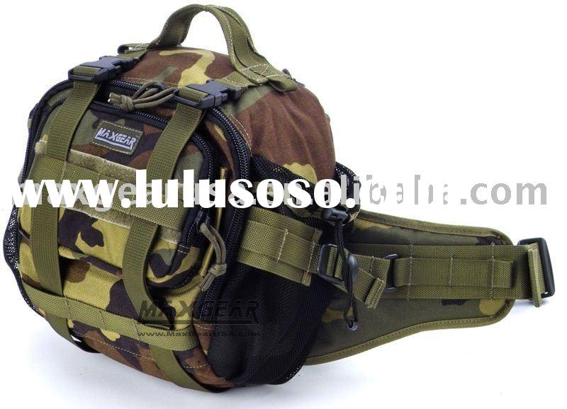 Waist Bag With Water Bottle Holder (Water Bottle Waist Bag) , Shoulder Strap Available