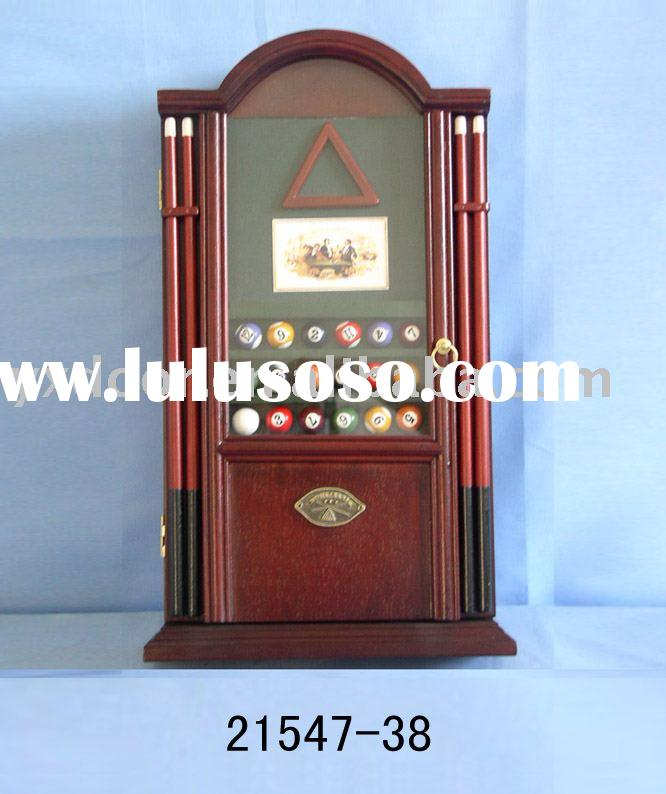 Wall decoration wooden key box (21547-38)