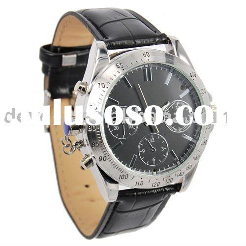 Watch Camera,Watch DVR,MINI Camcorder,Stainless steel&Leather Optional