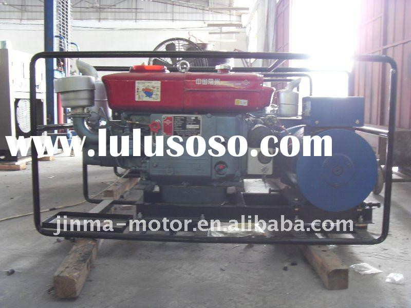 Water cooled single cylinder small diesel generator 8kw