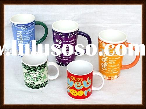 Water transfer paper for mug