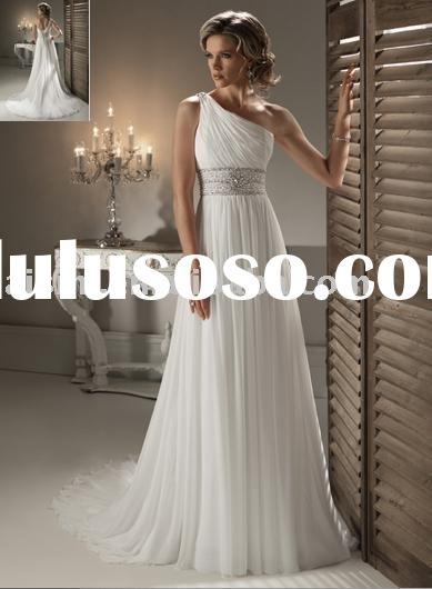 Wedding Dresses | 2011 Asha One-Shoulder Open Back Wedding Dresses Online