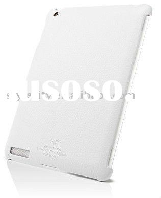 White Griff Leather Case for iPad 2