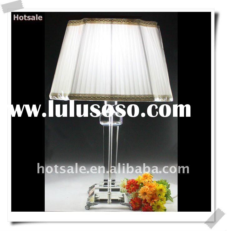 Wholesale decorative crystal table lamp for bedroom&modern table lamp parts&decorative table