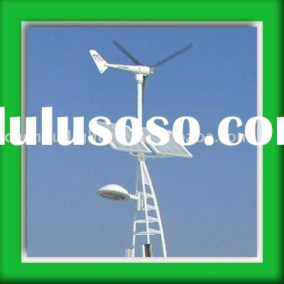 Wind Solar System for Street Light