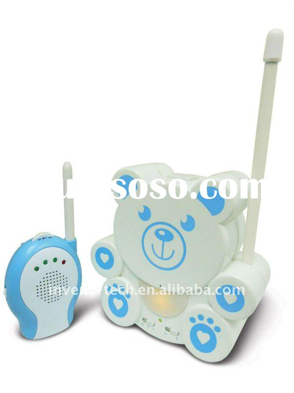 Wireless Audio Baby Monitor with Night Light