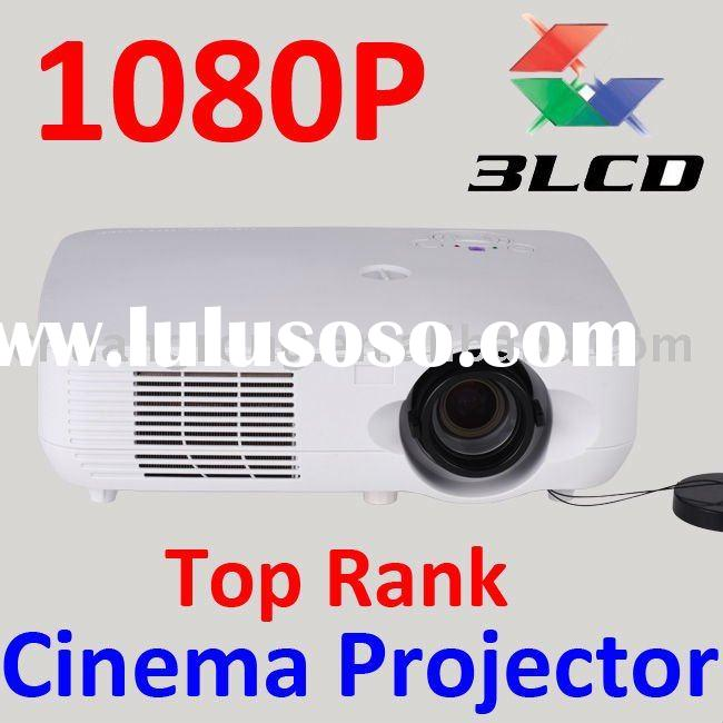 World First 3LCD 3LED Home Theater Multimedia DLP 1080P Projector