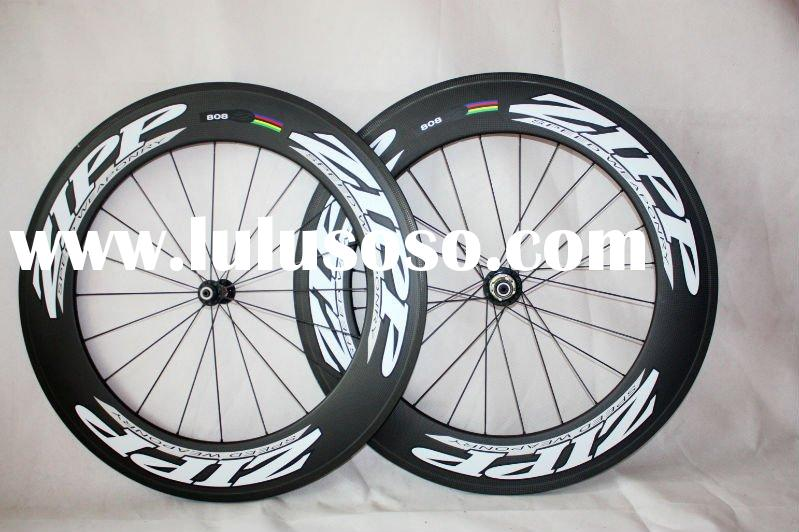 Zipp 808 carbon wheelset, Clincher 90mm