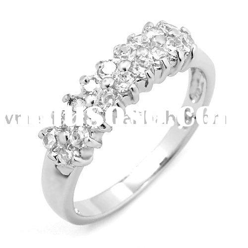 [RZH-0971] 925 SILVER RING, SILVER RING WITH CZ STONES