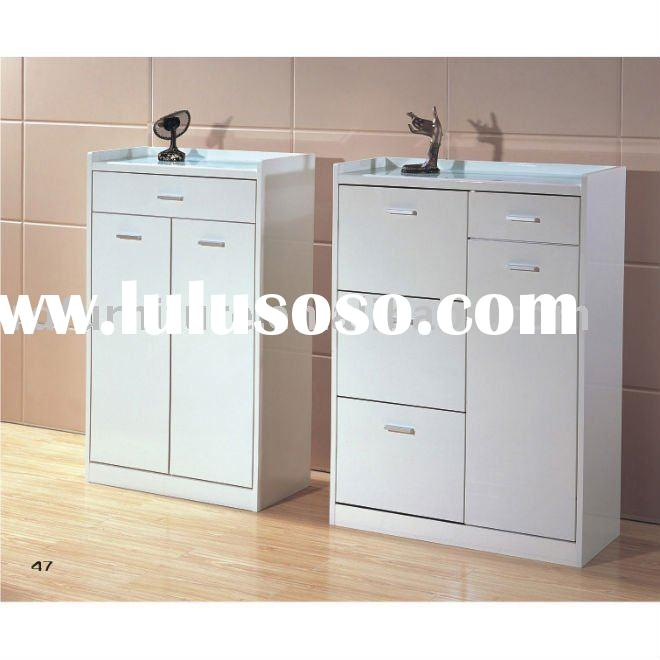 #YJ-3811,3812 modern shoe rack in white white color