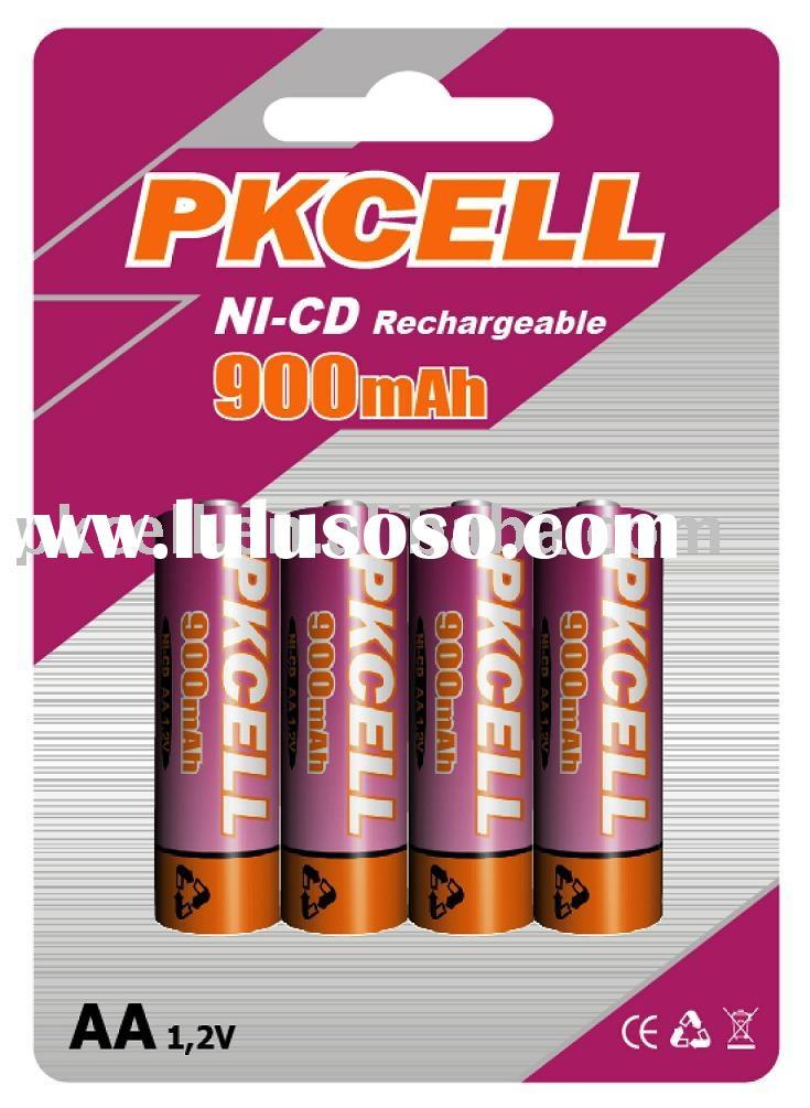 aa size Nicd Rechargeable Battery (900 mAh)