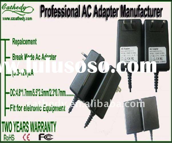 ac dc adapter for all consumer electronics including laptops,cameras 5V ac power adapter wall mount