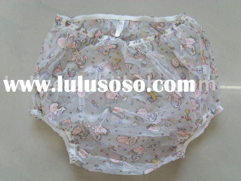 adult pvc diaper pants