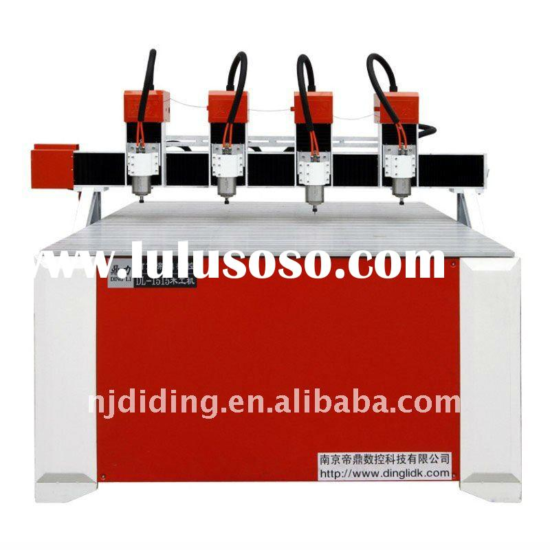advertising cnc router with four heads DL-1515