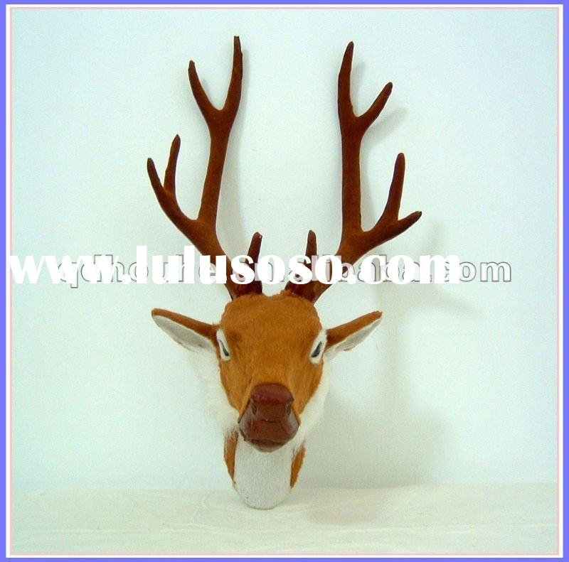 animal wall hanging craft deer head wall decoration fake/faux deer head sculpture