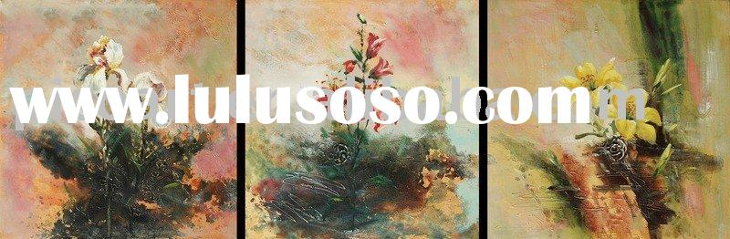 art decoration flower oil painting