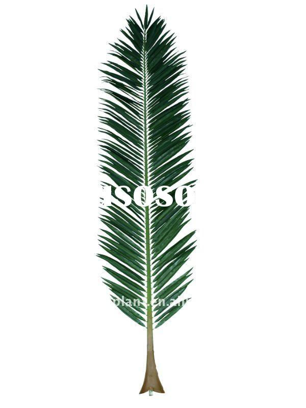 artificial outdoor special canary date palm tree leaf