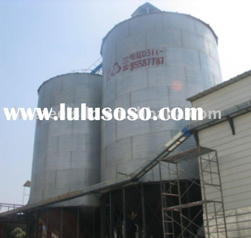 assemble Elevated Grain Silo