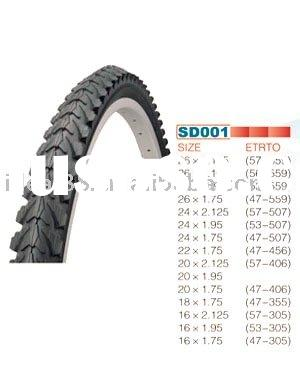 bicycle tyre(26X2.125,26X2.10,26X1.75/1.95,24X2.125,24X1.75/1.95,20X1.95,18X1.75,16X2.125)