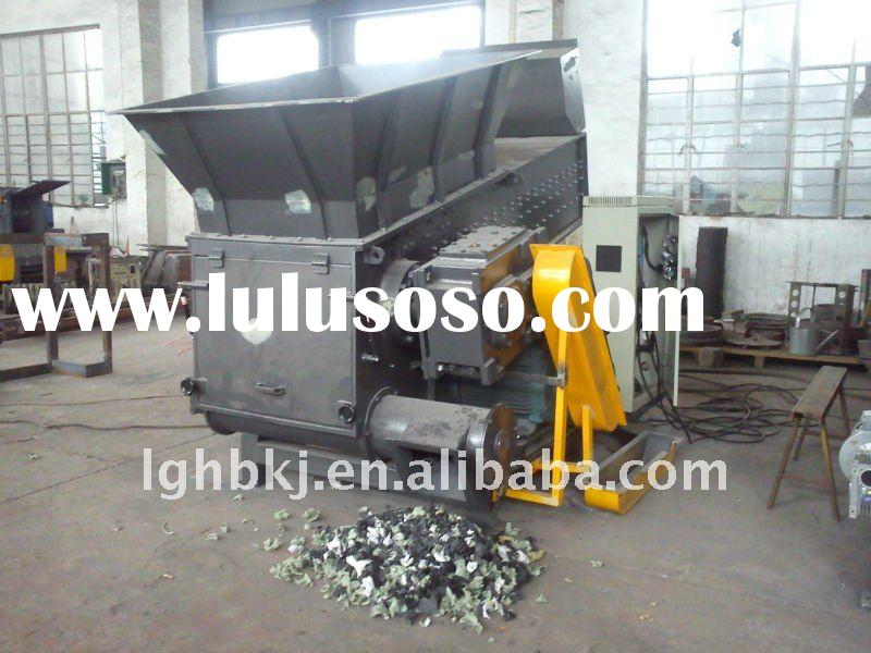 big single shaft shredder