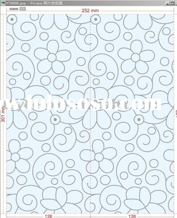 book cover , clear pvc self adhesive foil , (contact paper )