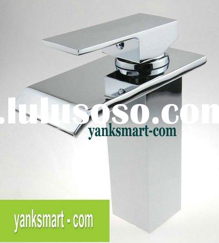 brass chrome mixer and tap JN8260c brass chrome bathroom&kitchen basin sink waterfall faucet
