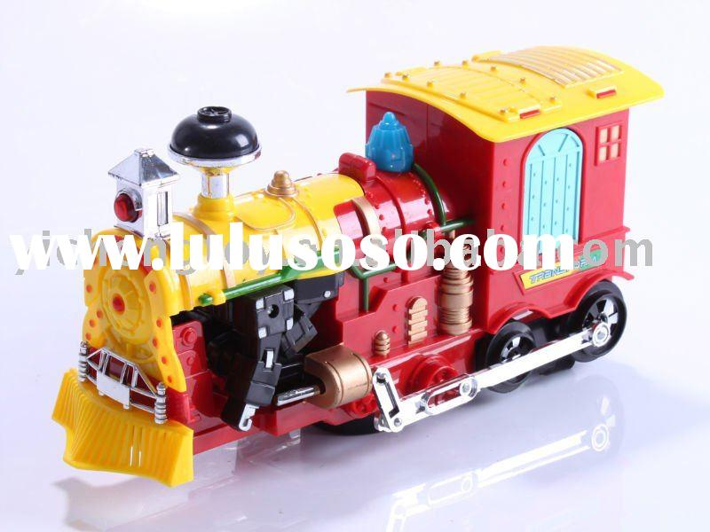 cartoon battery operated toys train