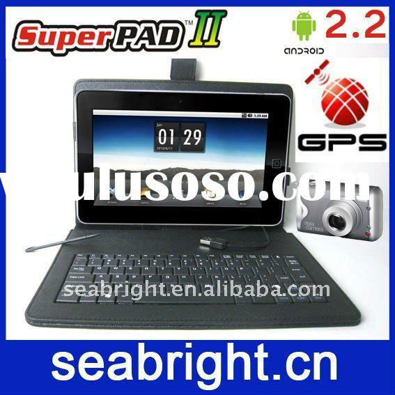 cheap laptop 10 inch android 2.2 support camera gps