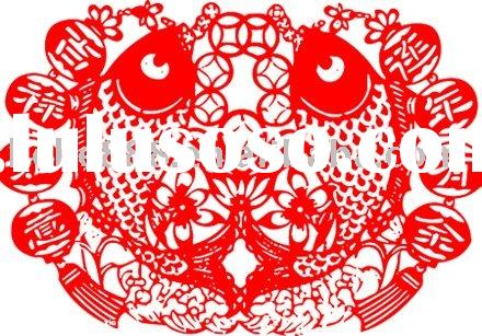chinese new year paper cut decoration (HPC-1042)