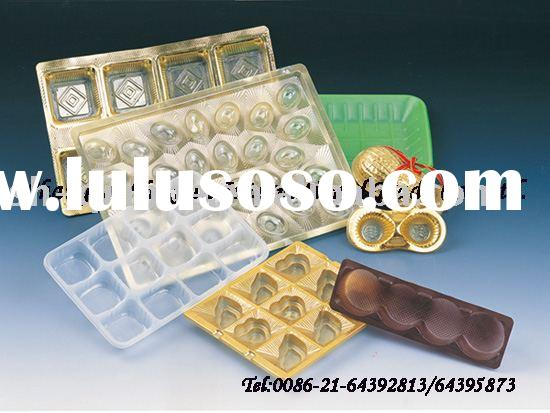 chocolate tray, plastic food tray, chocolate packaging