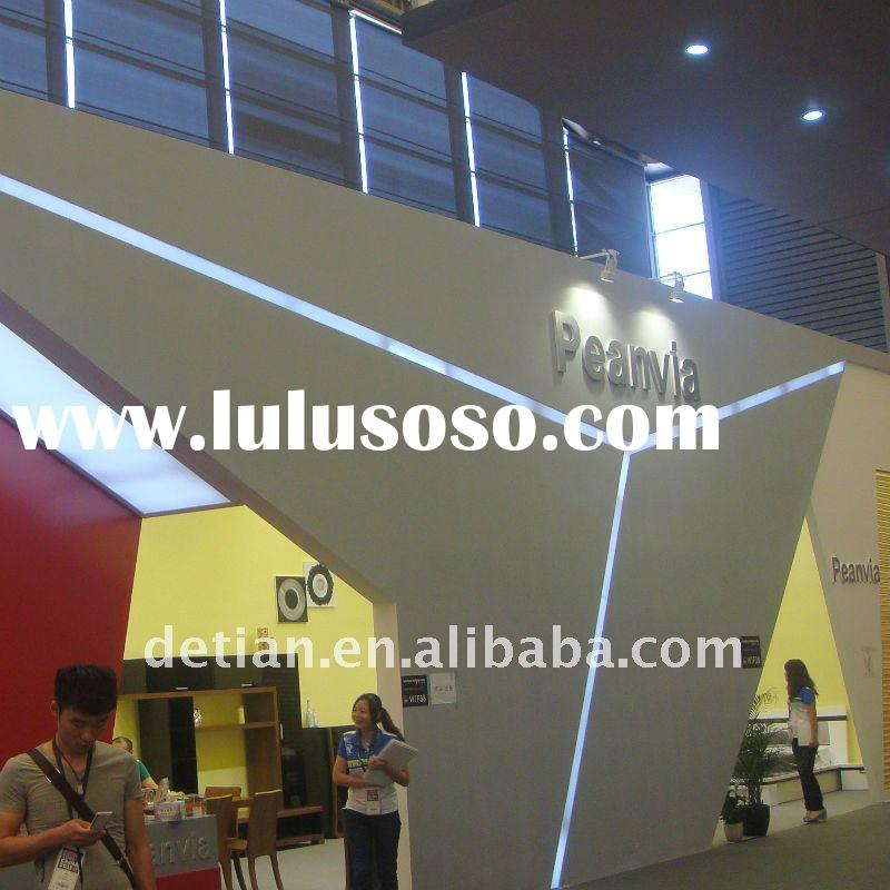 collapsible and portable wood exhibition booth for expo fair