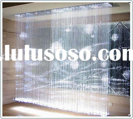 colorfull plastic fiber optic screen light for home decoration and office screen