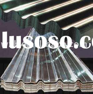 corrugated steel/metal roof panels
